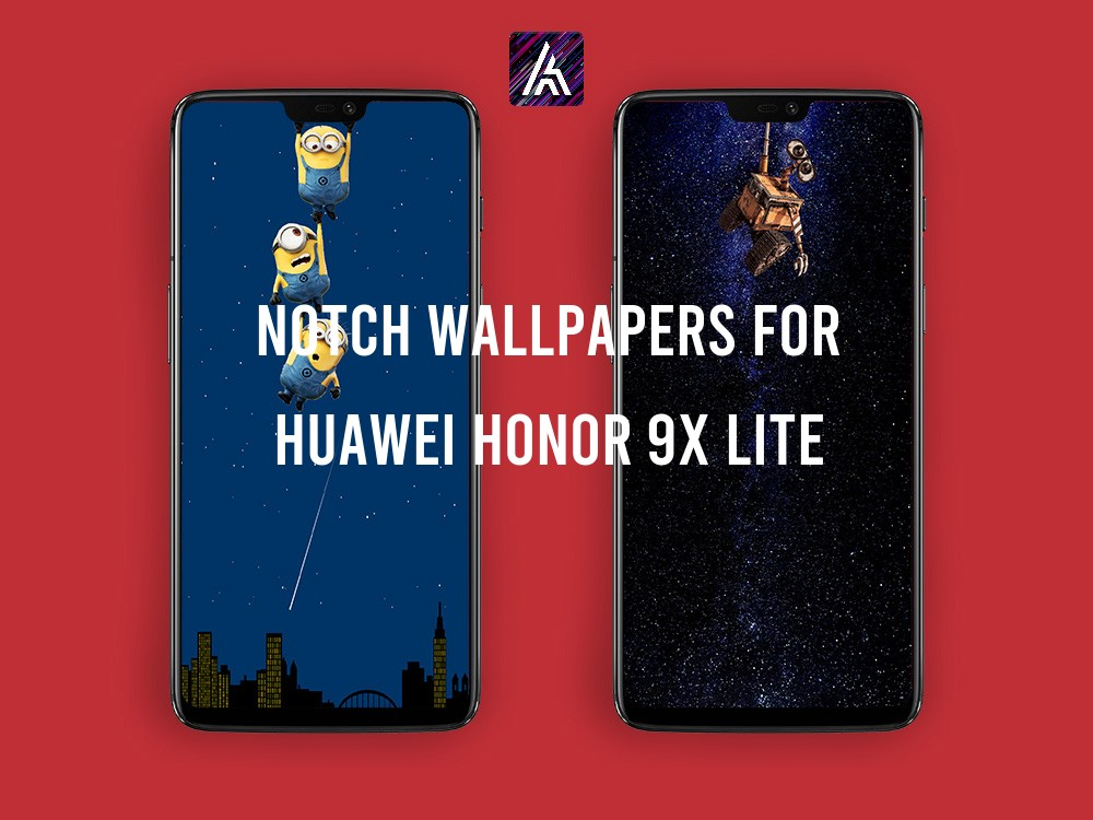 Notch Wallpapers for Huawei HONOR 9X Lite