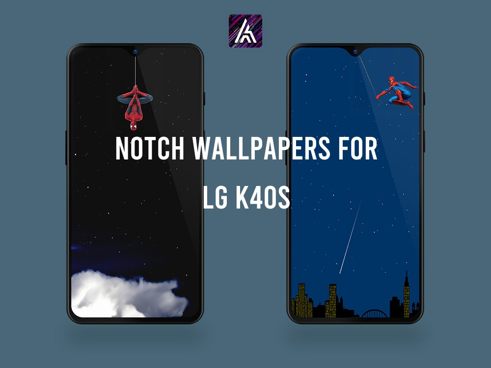 Notch Wallpapers for LG K40S