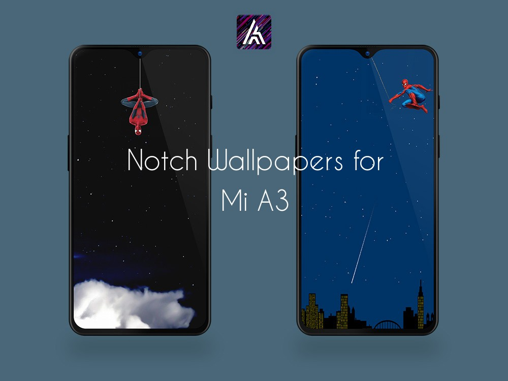 Mi A3 Notch Wallpapers Collection