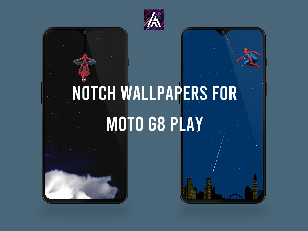 Notch Wallpapers for Moto G8 Play