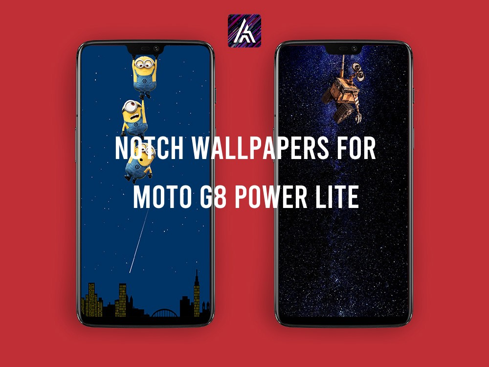 Notch Wallpapers for Moto G8 Power Lite