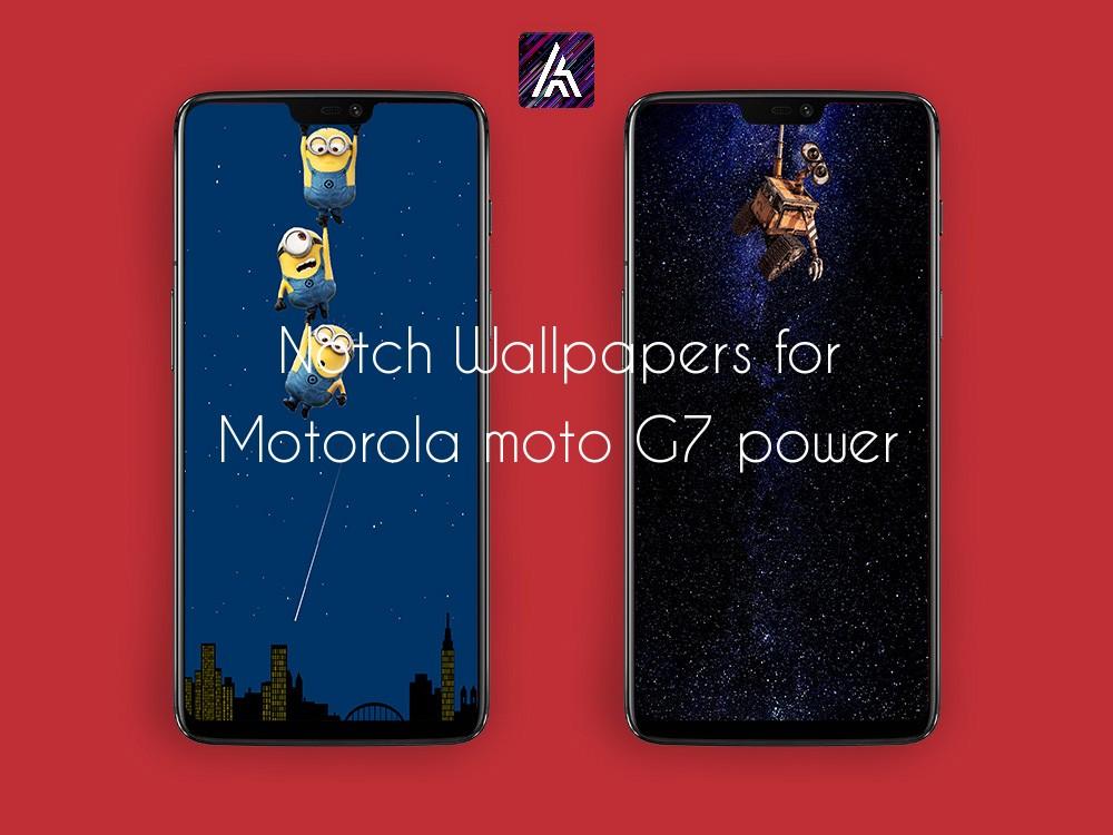 Notch Wallpapers for Motorola moto G7 power