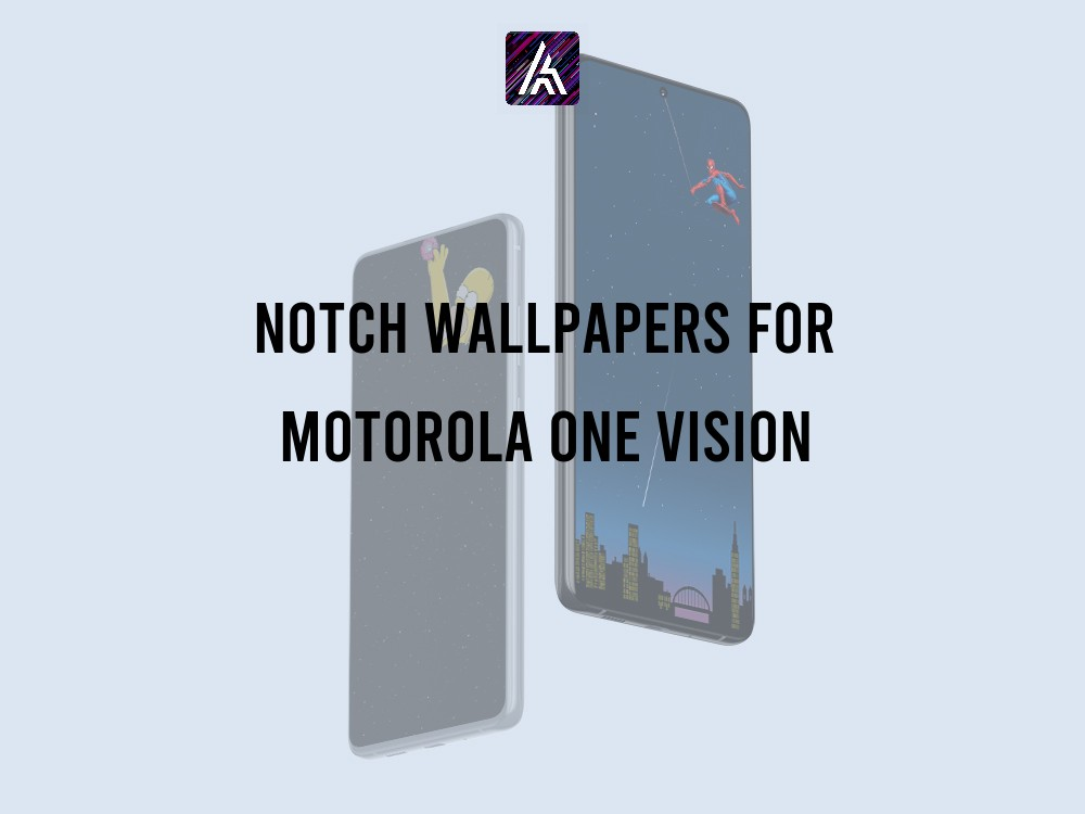 Notch Wallpapers for Motorola one vision