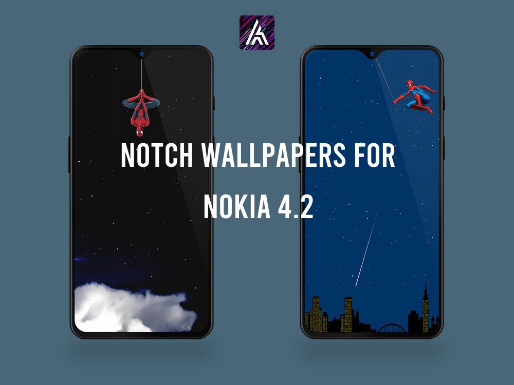 Notch Wallpapers for Nokia 4.2