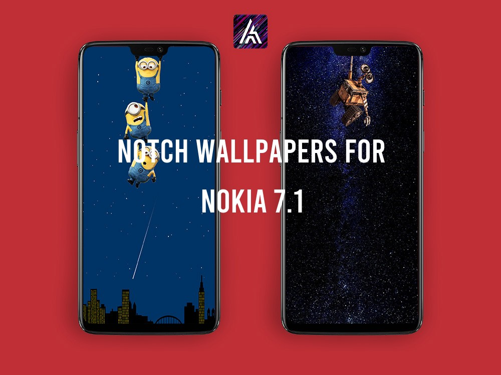 Notch Wallpapers for Nokia 7.1