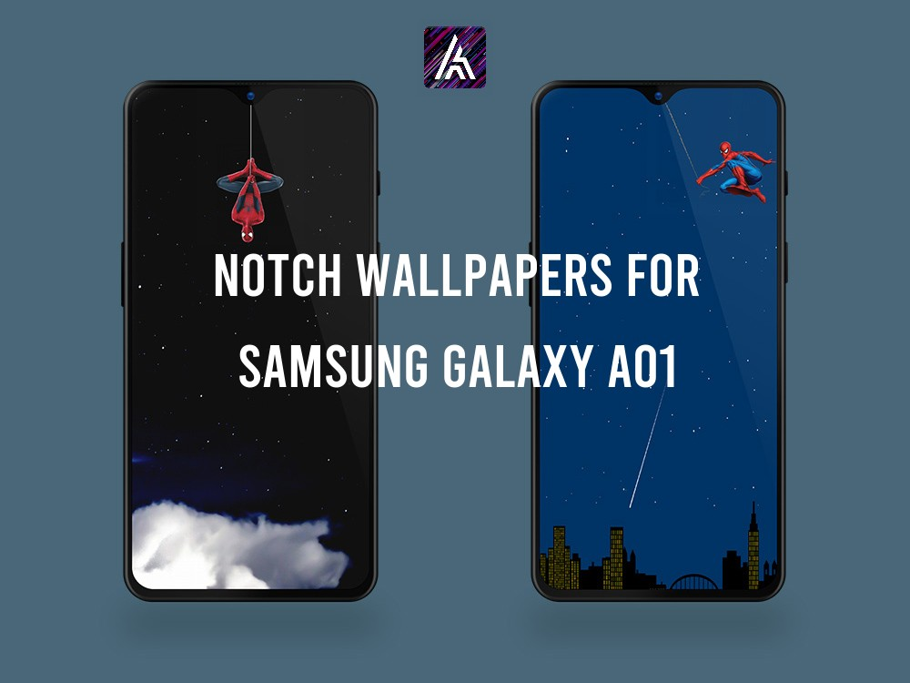 Notch Wallpapers for Samsung Galaxy A01