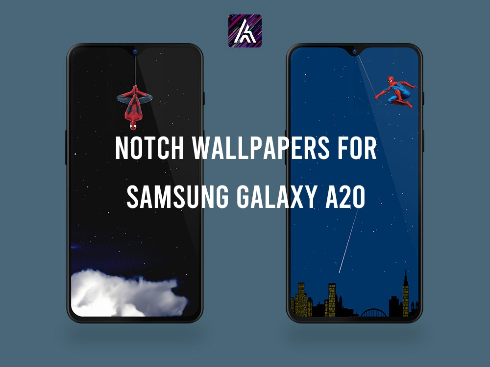 Notch Wallpapers Collection for Samsung Galaxy A20