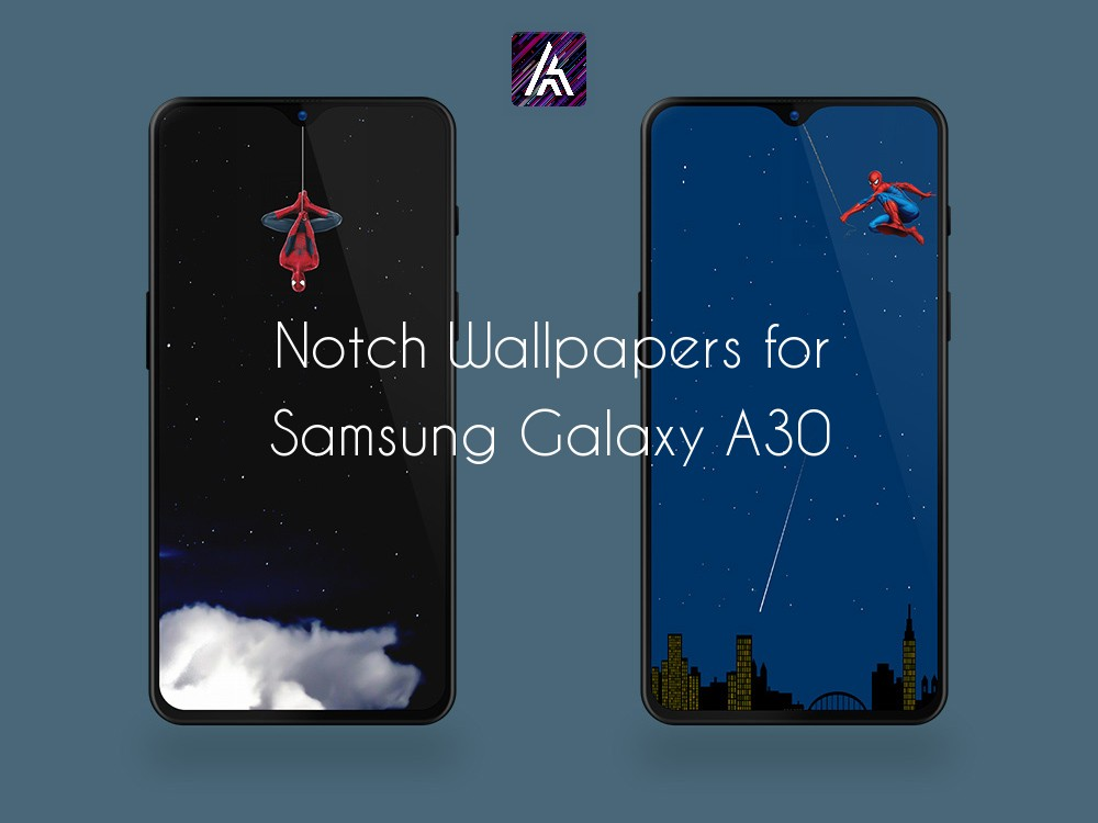 Notch Wallpapers for Samsung Galaxy A30