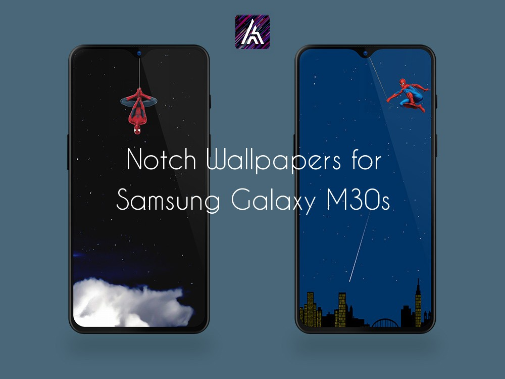 Notch & Punch Hole Wallpapers Collection for Samsung Galaxy M30s