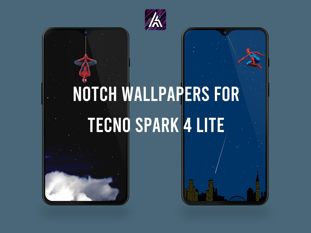 Notch Wallpapers for Tecno SPARK 4 Lite
