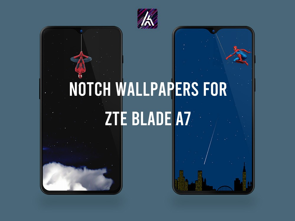 Notch Wallpapers Collection for ZTE Blade A7